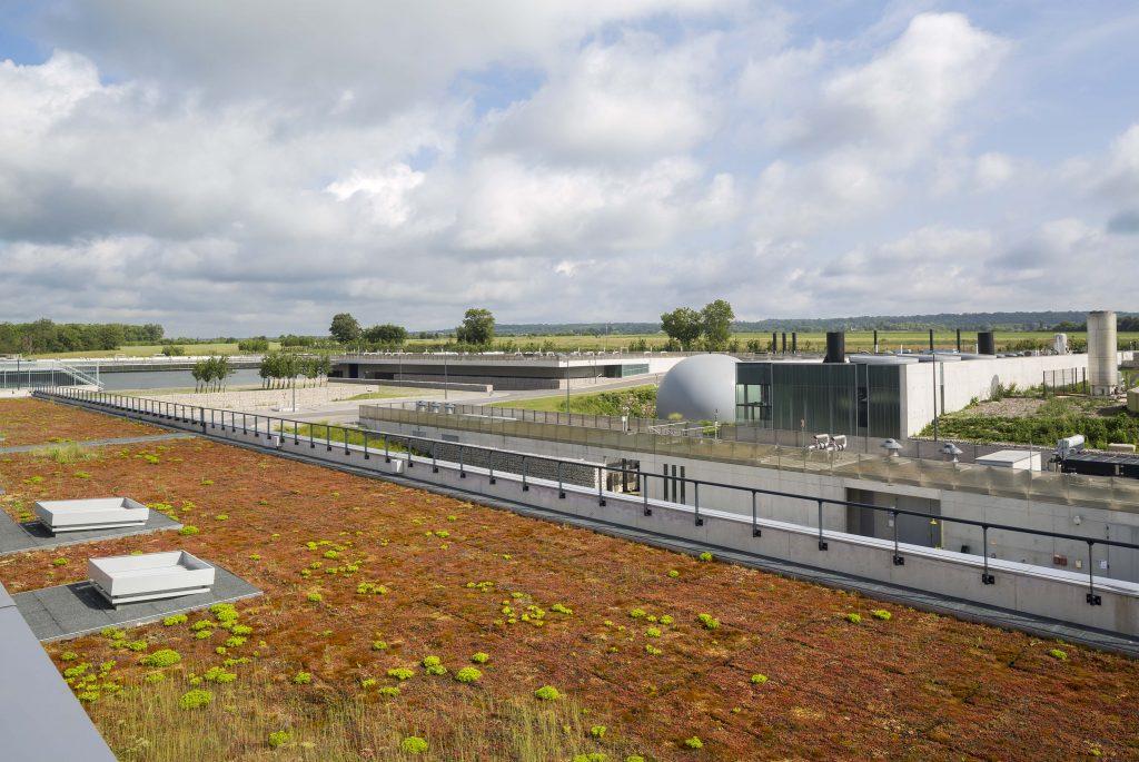 L'usine Carré de Réunion, située sur les communes de Bailly et Saint-Cyr-L'École