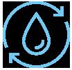 Pictogramme grand cycle de l'eau