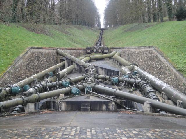 Remontée de l'eau de Bougival vers Louveciennes