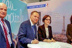 Signataires du SEDIF, du SEPG, du SMGSEVESC et de la ville de Paris
