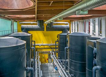 Usine de traitement des eaux usées Carré de Réunion